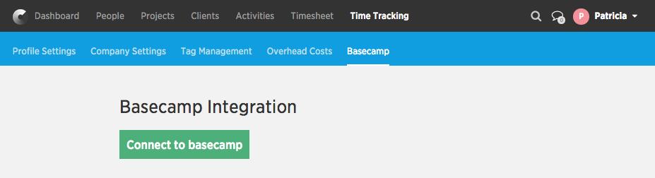 Basecamp integration
