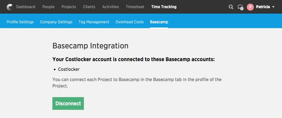 Basecamp&Costlocker integration