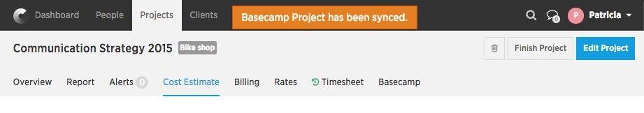Basecamp synchronizazion
