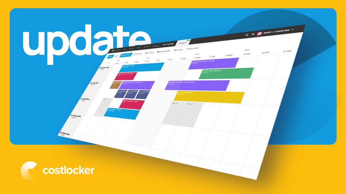 costlocker update 2021